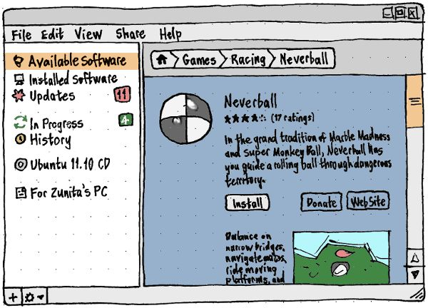 Эскиз Software Store