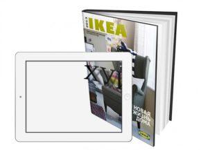 Дополненная реальность каталога ИКЕА