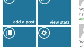 WordPress-клиент для Windows Phone 8