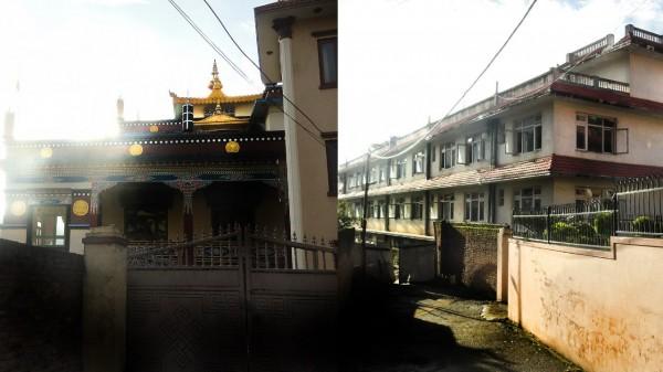 Нашел монастырь
