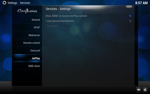 Settings.services.airplay