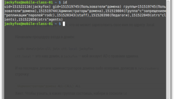 Linux Mint в домене Windows