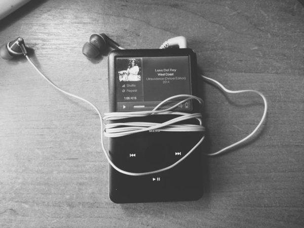 iPod Classic шестого поколения с установленным Rockbox